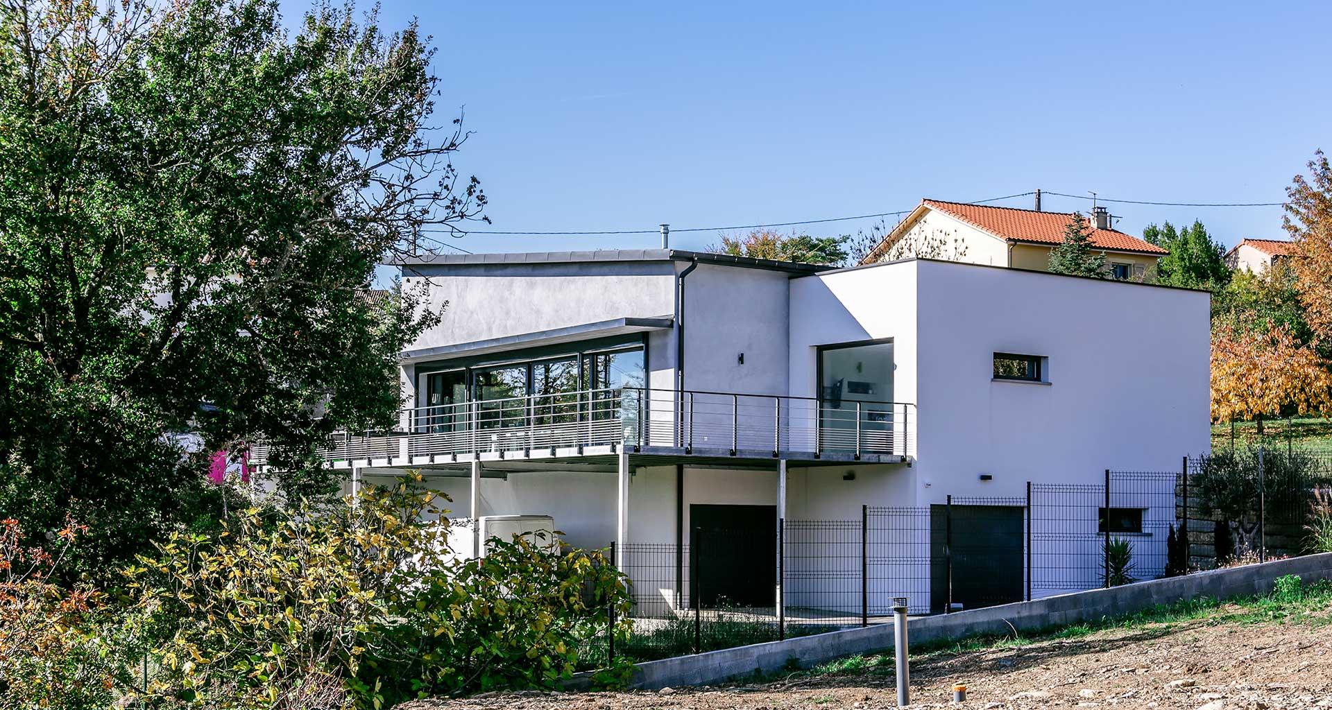 Prix Maison Ossature Metallique Clé En Main maison à ossature métallique • euro12 construction • aveyron
